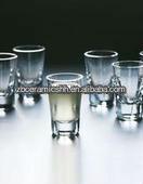 1.5oz thick bottom shot glass for bar