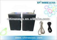 Active floor standing wireless speaker
