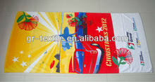 2012 Hot Sales Colourful Chirstmas Promotional towel