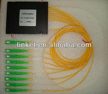 Fiber Optic 1*8 PLC Splitter for GPON/EPON Network