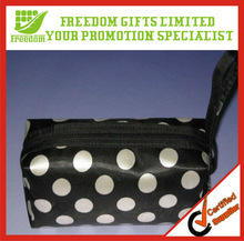 Most Fashionable Logo Printed Cosmetic Bag With Mirror