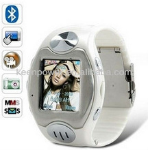 """1.38"""" Quad-Band Hidden Camera MP3/MP4 Watch Touch Phone S66"""