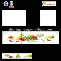 ceramic glazed kitchen design photos tile fruit