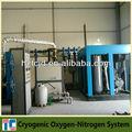 de oxígeno criogénico líquido de la planta del sistema