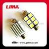 license auto bulb c5w led