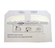 disposable/travel paper toilet seat cover