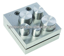 Jewelry Bench Block Disc Cutter Punch(5 Hole)