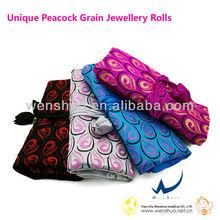 Wholesale Unique Peacock Grain Jewelry Bags