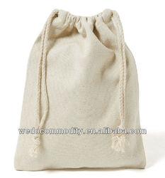 100% cotton drawstring bags