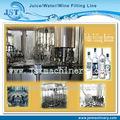 Vetro bottiglia di vino/vodka/liquore riempimento macchina fabbrica