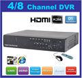 H el más barato. Osd 264 dvr en tiempo real, soporte hdmi, ddns, 45 rj, rs-485, mando a distancia