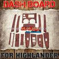 salpicadero de Madera Para Highlander 07 piezas de automóviles