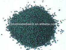 PE plastic master batch in green