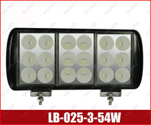 54w !! 3w/led SMD LED working lamp / Work light Floodlight SUV Tractor Train Bus Vehicle DC 10-30V LB-025-3 #F freeshipping