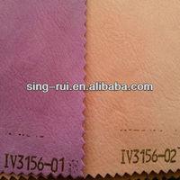 2013 new pu materials to make sandals (cuerina sintetica para sandalias)