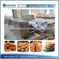 Completa de calefacción eléctrica de galletas/galletas de la máquina de procesamiento