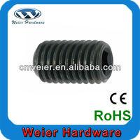 environmental 6061 cap hexagon aluminum set screw