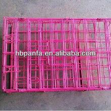 Plastic folding cage