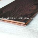 Finished Chestnut hardwood flooring