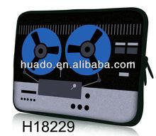 "hot selling tape 7"" neoprene laptop sleeves"