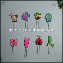 3d flying butterfly paper clip bookmark ,magnetic coated bookmark, holiday