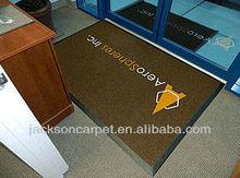 Famous Brand logo rubber Mats