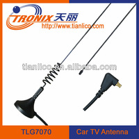 buggy whips car antenna / magnetic mount 1 section mast tv car antenna TLG7070 (Factory)