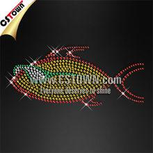 Underwater animal shining hotfix yellow fish transfers