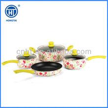 NON STICK CERAMIC FRYING PAN ALUMINIUM INDUCTION Cookware sets