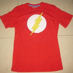 big bang theory DC COMICS the flash t shirt stock