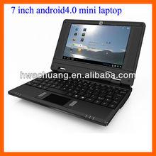7 inch China netbook via 8850 anroid4.0 wifi mini laptop 512MB RAM/4GB flash