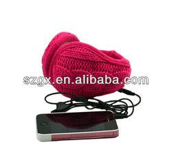 2013 Fashion Earmuff Headphones with speaker & mic