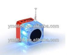 Music USB Speaker Portable Amplified Stereo Speakers For USB Digital Speaker