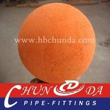 Junjin DN125mm sponge ball soft hard mid-soft rubber