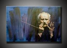 handmade old man oil paintings
