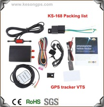 gps tracker with sms message track by gps with internet memory gps data when the car is out of coverage area KS168