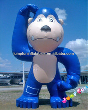 Giant inflatable gorilla advertising model for promotion