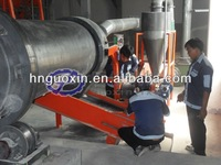 Perfect thermal seal sand rotary dryer success proved at Panasonic Indonesia