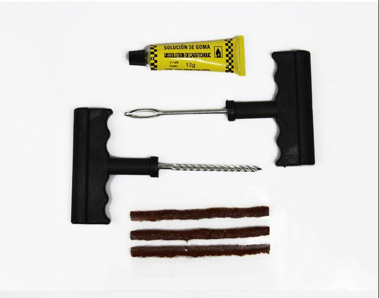 Car Auto Tubeless Tire Tyre Puncture Plug Repair Kits tool