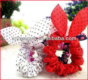 pretty rabbit ear infant headbands elastic headbands