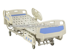 Electric hospital beds with motor control
