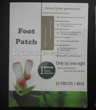 2012 relax detox foot patch with CE(10pcs/box)