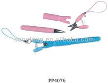 PP4076 mini knife with plastic ballpoint pen