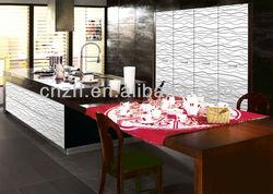 Mordern MDF UV paint,Kitchen Cabinet model 9612