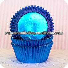 royal blue foil design facotry supplier Paper cup cake cases muffin case muffin liners baking cups wholesale
