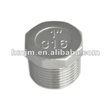 304 high quality stainless steel hex plug