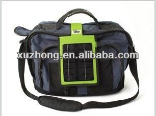 High grade solar laptop bag charger with customized logo