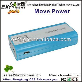enough 5000 Mah power bank for most mobile/XN-P2813