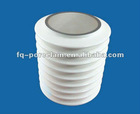 THE NO.1 EXPERT Porcelain 95% High Alumina Insulated Vacuum Tube Insulation Tube Could Coat With Metallizations