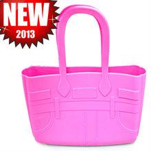 silicone tote bag, pvc tote bag, silicone handbag
